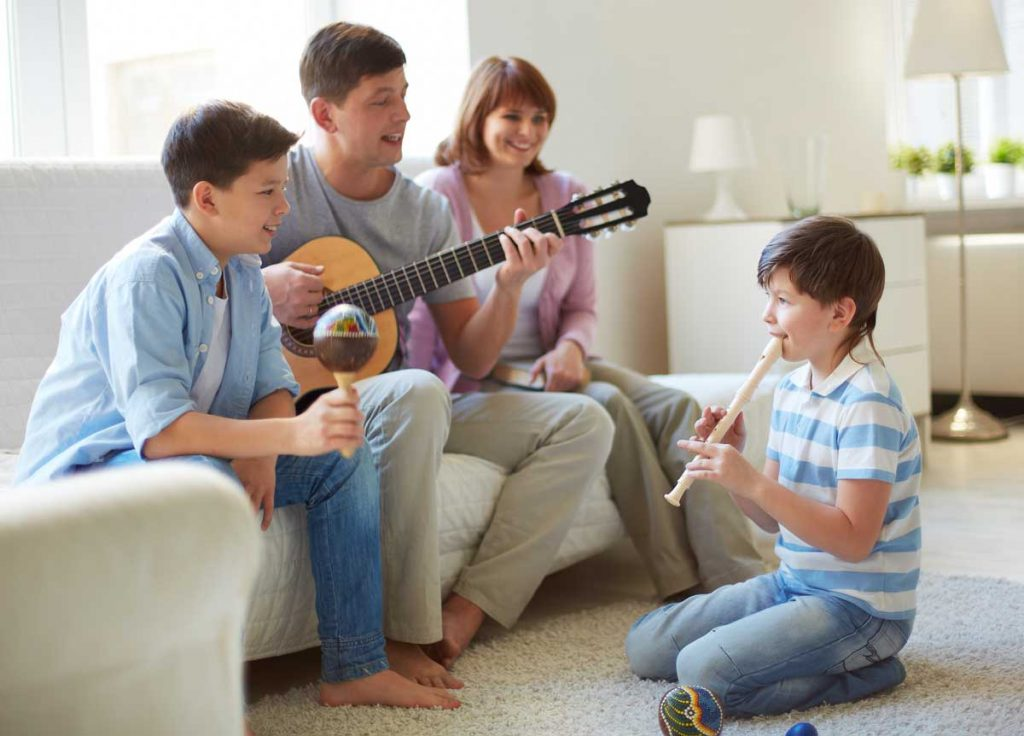 Healing therapy is a benefit of playing the guitar